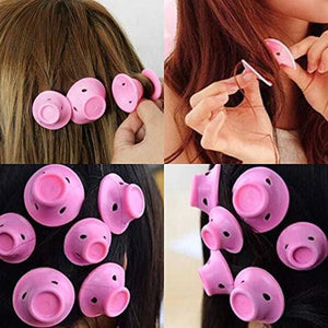 10pcs/lot Roll Hair Style Roller Curler - looshore
