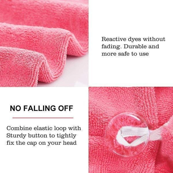 (BUY 2 GET 1 FREE!!)Quick Magic Hair Dry Towel - looshore