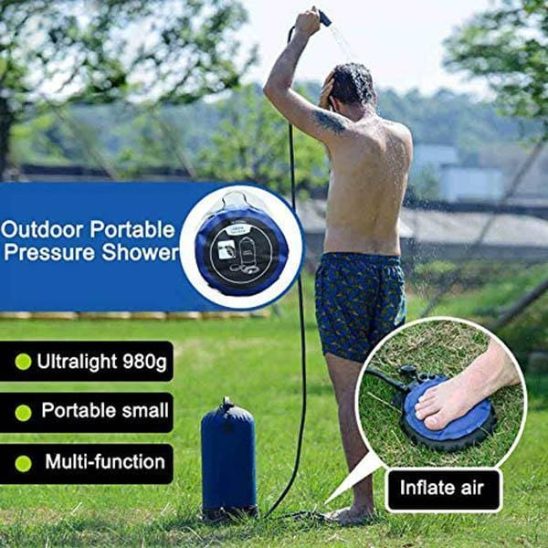 Portable Pressure Shower - looshore