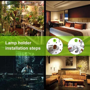 LED Light Bulbs Socket Adapter - looshore