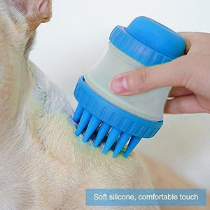 Pet Bathing Massage Brush - looshore