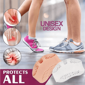 Silicone Honeycomb Forefoot Pad - looshore