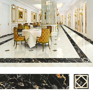 Floor Tiles Decor Stickers ( 5M ) - looshore