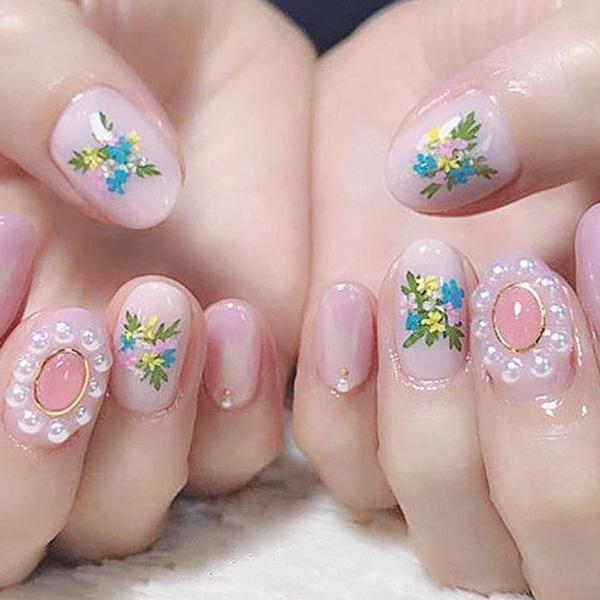 Dried Flowers For Nails - looshore