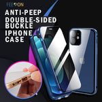 Feeon®Anti-peep Double-Sided Buckle iPhone Case