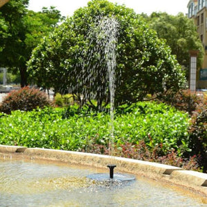 Solar Powered Fountain - looshore