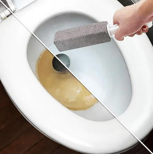 Toilet Cleansing Pumice Stone Wand - looshore