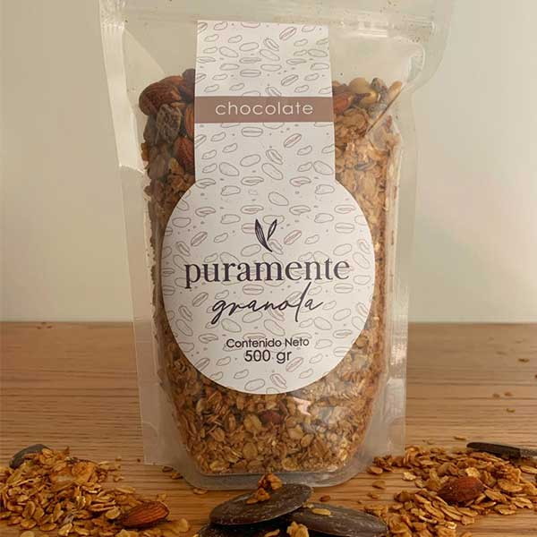 Granola Chocolate - 100% Natural y Artesanal