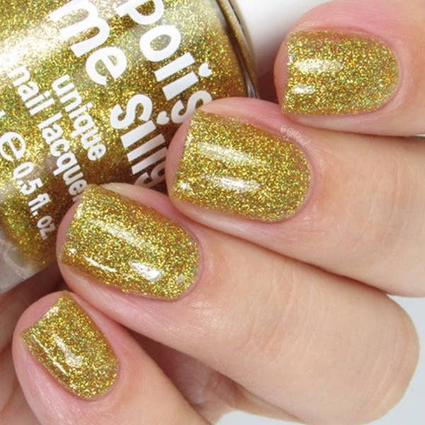 Super Star - Rainbow Sparkle Nail Polish