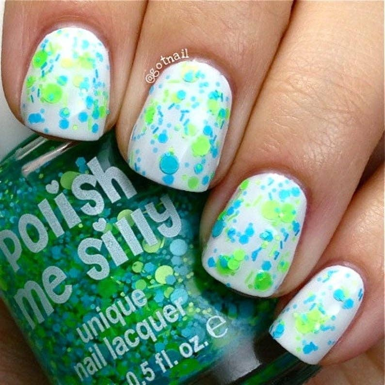 Hanging Loose - Polka Dot Nail Polish