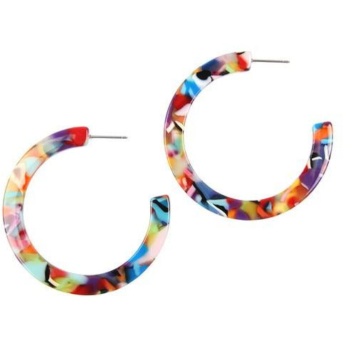 Melanie Hoop Earrings