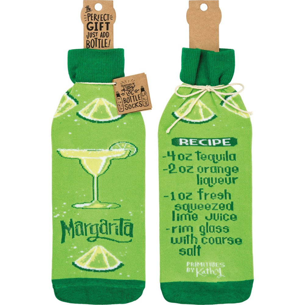 Margarita Recipe -- Bottle Sock By PBK