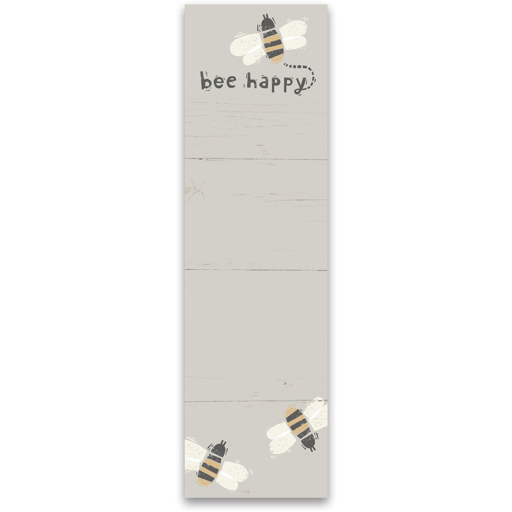 Bee Happy Notepad by PBK