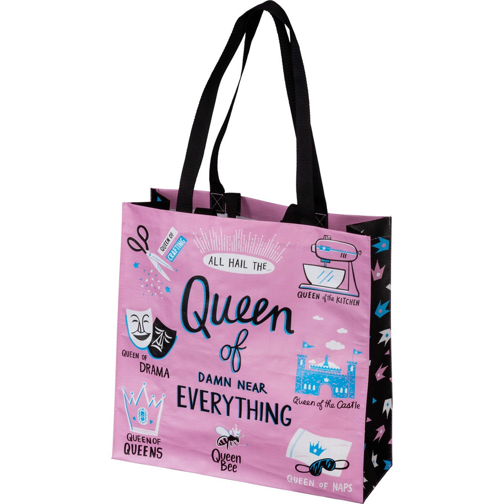 Queen Of Near Everything - Market Tote
