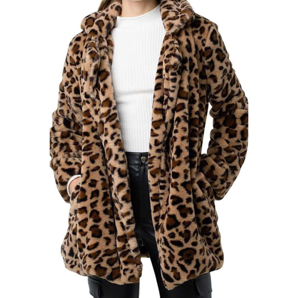 Leopard Print Jacket -- Choice of Size