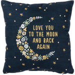 Love You To The Moon And Back -- Pillow by PBK