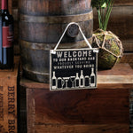 Proudly Serving Whatever You Bring -- Hanging Sign by PBK