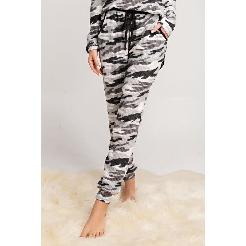 Camo Print Lounging Pants