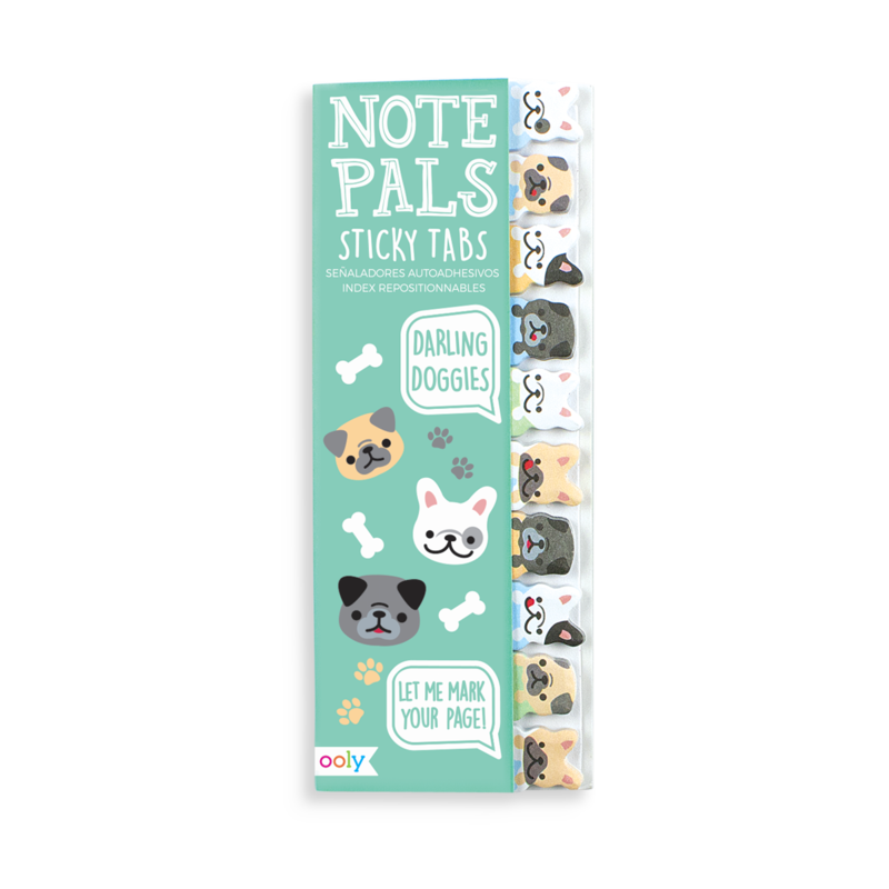 Note Pals Sticky Tabs -- Darling Doggies