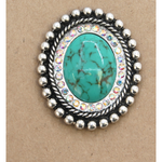Turquoise Oval Phone Holder Accessory