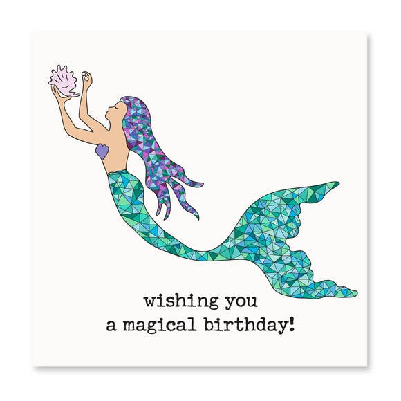 Wishing You A Magical Birthday! Greeting Card