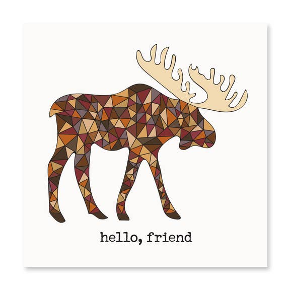 Hello Friend! Greeting Card
