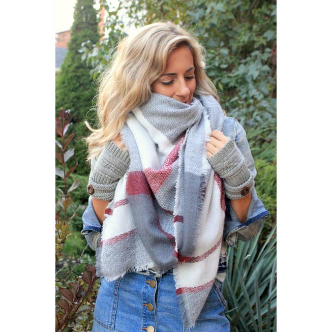 Blanket Scarf -- Choice of Color