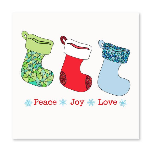 Holiday Stockings Card