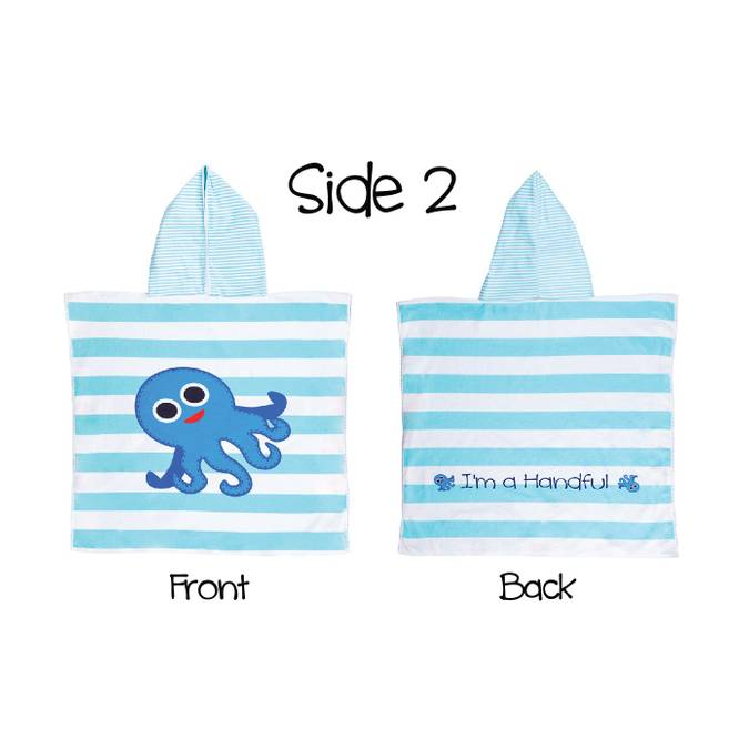 Reversible Kids' Cover Ups - Whale / Octopus