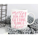 Messy Bun Coffee Mug