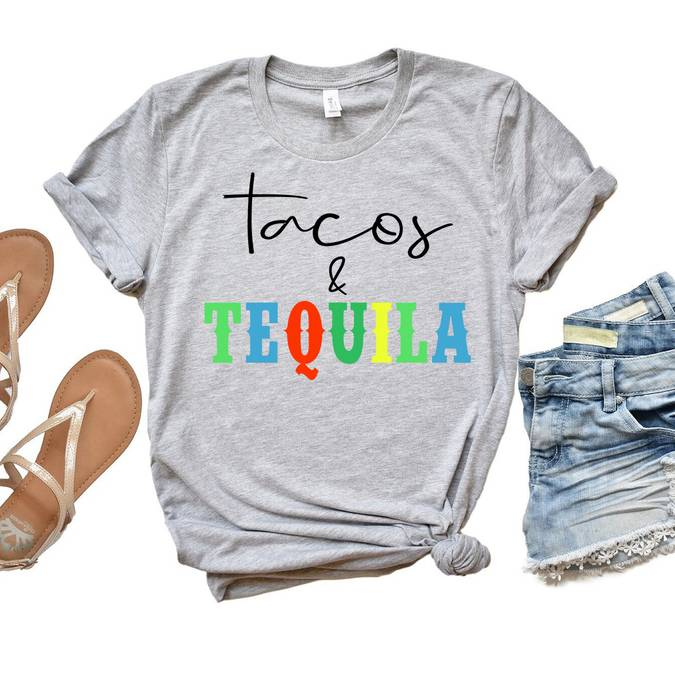 Tacos + Tequila -- Choice of Size - BFF Here