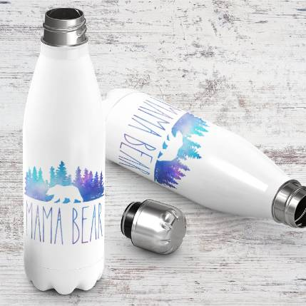 Mama Bear Stainless Bottle