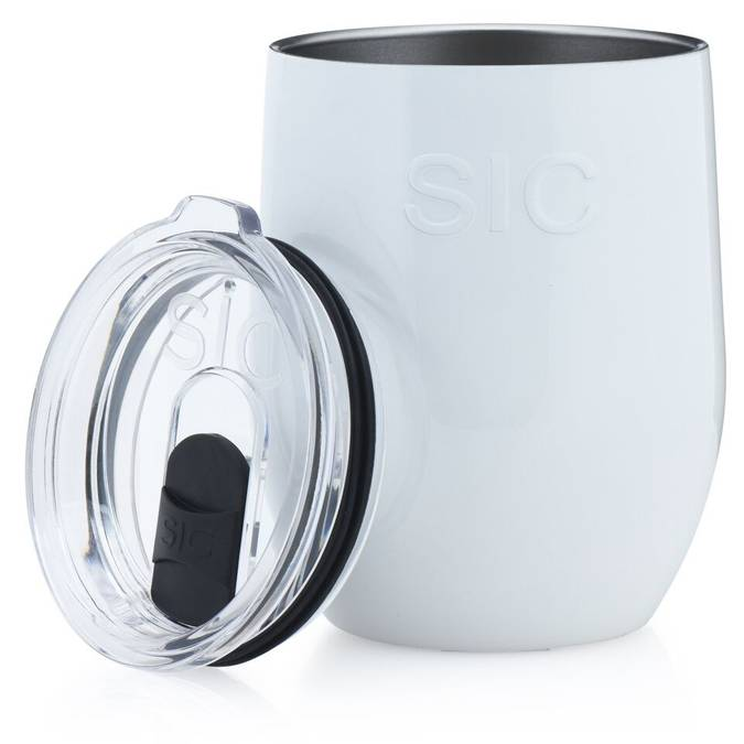 Ice White -- 16 oz Stemless SIC Cup