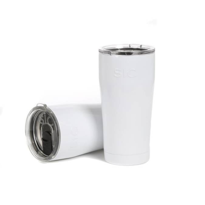 Gloss Ice White -- 20oz SIC Cup
