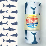 Hooded Upf 50+ Sunscreen Towel -- Choice of Style