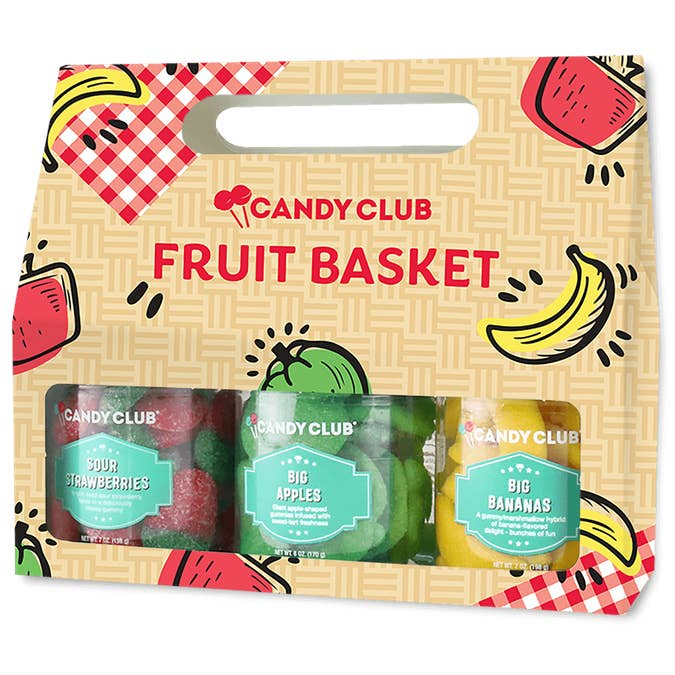 Fruit Basket Gift Set by Candy Club
