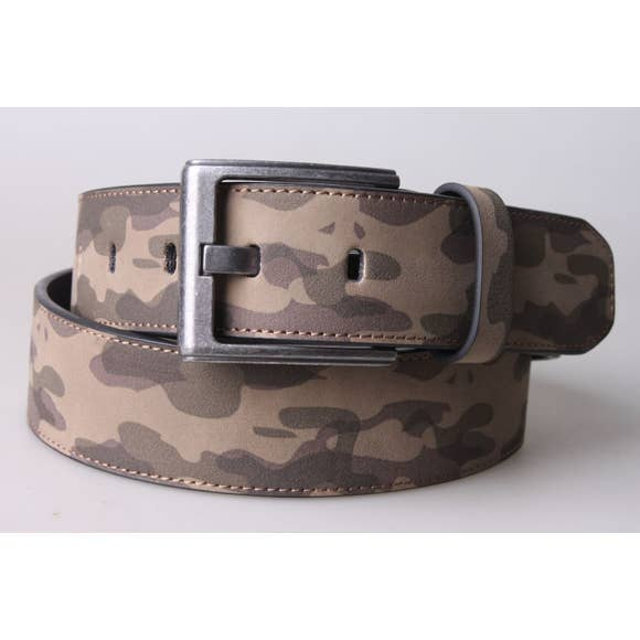 Mens Camouflage Belt -- Choice of Size & Color