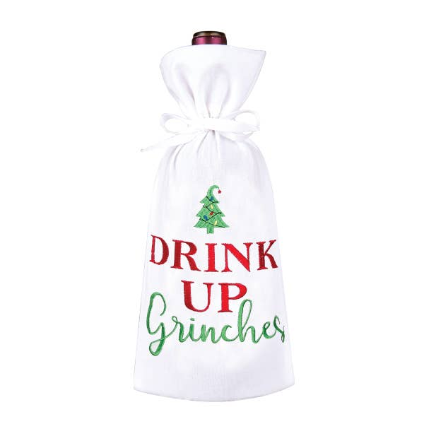 Drink Up Grinch's Wine Bag
