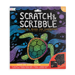 Scratch & Scribble Art Kit -- Ocean Life