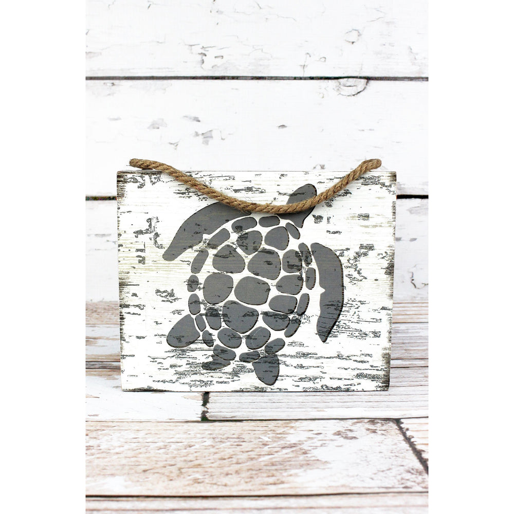 Turtle Wood Box Wall Art