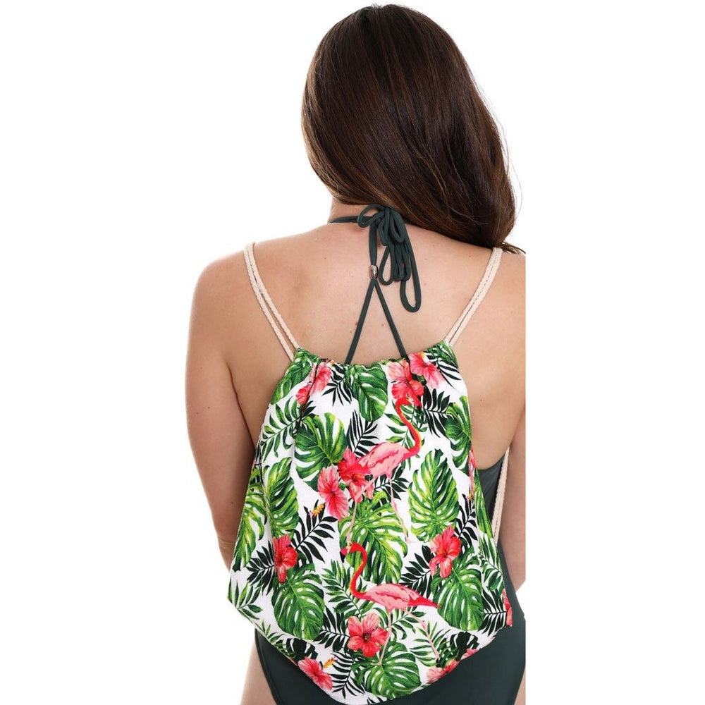 Hawaiian Flamingo 2-in-1 Tote