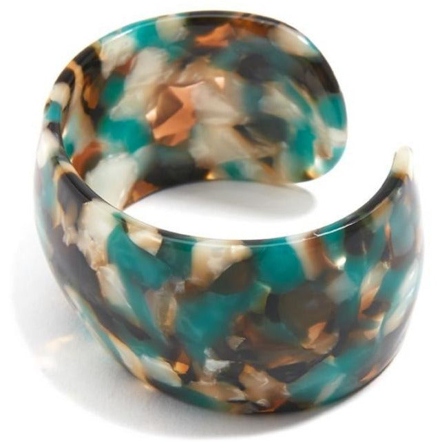 Torti-Ful Cuff Bracelet  -- Choice of Color