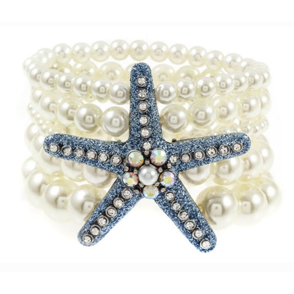 Starfish Multi Layer Bracelet
