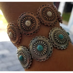 Link Round Accent Bracelet -- Choice of Color