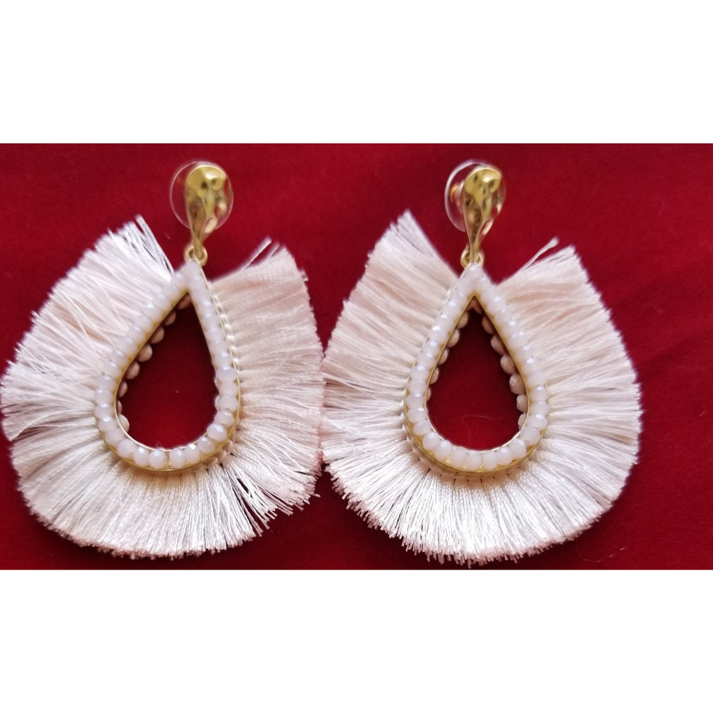 Teardrop Fringe Earring -- Choice of Color