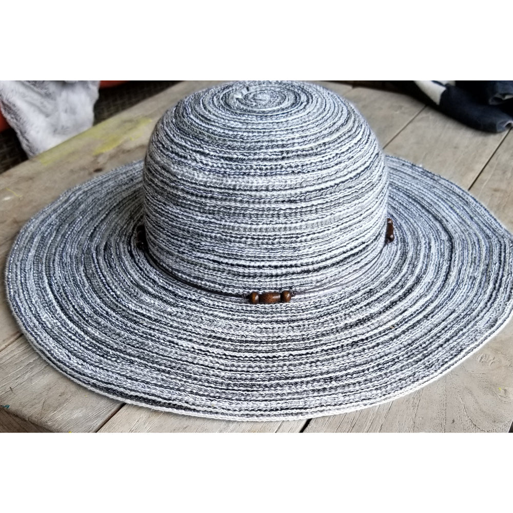 Sun Hat With Bead Band