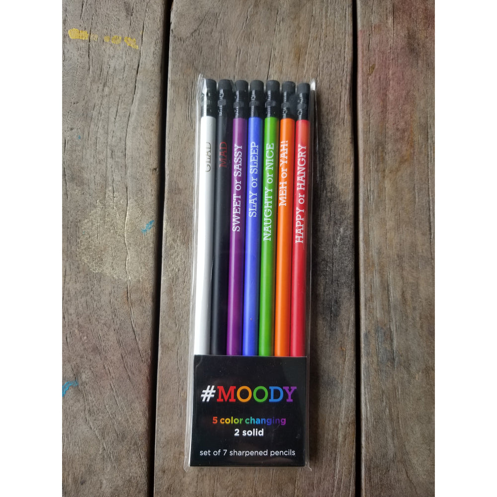 Mood Color Changing Themed Pencils