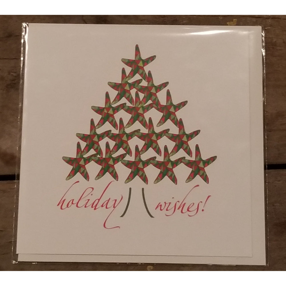 Holiday Starfish Card