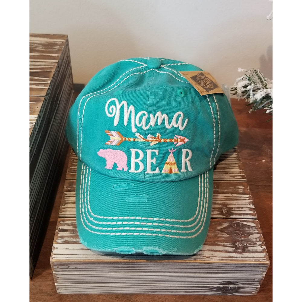 Mama Bear Hat-- Choice of Color