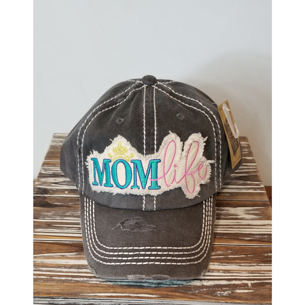 Mom Life Hat-- Choice of Color